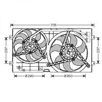 Ventilateur refroidissement du moteur VOLKSWAGEN NEW BEETLE de 98 à 11 - OEM : 1J0959455M
