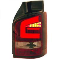 Kit de feux arrières teinté rouge VOLKSWAGEN TRANSPORTEUR 5 de 03 à 09