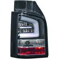 Kit de feux arrières noir teinté VOLKSWAGEN TRANSPORTEUR 5 de 2010 à 15