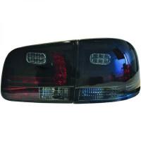 Kit de feux arrières version LED noir VOKSWAGEN CRAFTER de 02 à 10