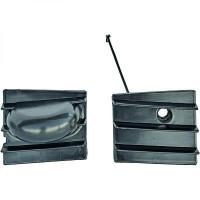 Enjoliveur, pare-chocs gauche SEAT ALHAMBRA / VW SHARAN de 95 à 99 - OEM : 7M0854703B01C