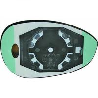 Miroir (convexe) de rétroviseur coté gauche FIAT 500 + ABARTH de 07 à >>