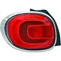 Feu arrière gauche FIAT 500 de 2012 à >> - OEM : 51883572