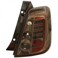 Kit de feux arrières version LED teinté FIAT 500 de 07 à >>