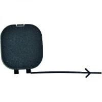 Cache crochet remorquage arrière FIAT PANDA (312, 319) de 2012 à >> - OEM : 735537018