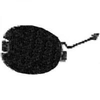 Cache crochet remorquage avant FIAT PUNTO (176) de 93 à 99