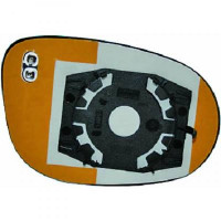 Miroir (convexe) de rétroviseur coté gauche FIAT BRAVO 2 (198) de 07 à >> - OEM : 71748727