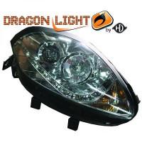 Set de deux phares principaux H1/H1 LED FIAT BRAVO 2 (198) de 07 à >>