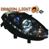 Set de deux phares principaux H1/H1 LED FIAT BRAVO 2 (198) de 07 à >