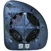 Miroir (convexe) de rétroviseur coté gauche FIAT MULTIPLA (186) de 99 à 04
