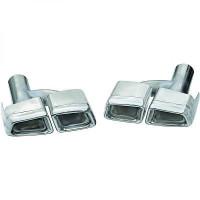 Déflecteur de tuyau de sortie gauche / droit en acier inoxydable MERCEDES CLASSE E (W212) de 09 à >