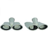 Déflecteur de tuyau de sortie acier inoxydable Kit MERCEDES CLASSE S (W221) de 05 à 09