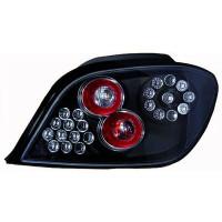 Kit de feux arrières version LED noir PEUGEOT 307 de 01 à >>