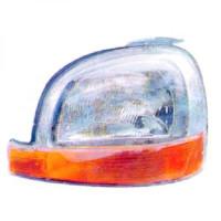 Phare principal gauche RENAULT CLIO 1 de 98 à 03 - OEM : 7701044037