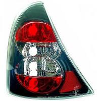Kit de feux arrières chrome/noir RENAULT CLIO 2 de 98 à 1
