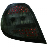 Kit de feux arrières version LED noir RENAULT CLIO 3 de 05 à 09