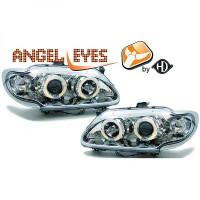 Set de deux phares principaux H1/H1 manuel RENAULT MEGANE 1 de 96 à 99