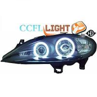 Set de deux phares principaux H1/H1 noir RENAULT SCENIC 1 de 99 à 02