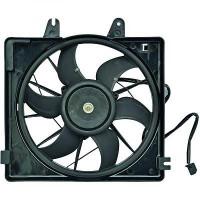 Ventilateur condenseur de climatisation MAZDA 626 BERLINE de 97 à 02 - OEM : KLG415140