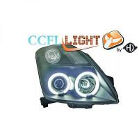 Set de deux phares principaux H1/H1 noir SUZUKI SWIFT 3 de 05 à 10