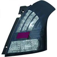 Kit de feux arrières version LED gris fumée SUZUKI SWIFT 3 de 05 à 10