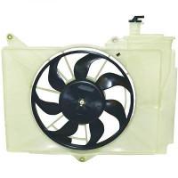 Ventilateur refroidissement du moteur sans climatisation modèle avec clim TOYOTA YARIS (P1) de 99 à 05 - OEM : 1671121030