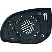 Miroir de rétroviseur coté droit (pour option dégivrant) HIUNDAI I20 de 08 à >> - OEM : 876211J100