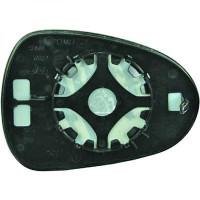 Miroir (convexe) de rétroviseur coté gauche SEAT IBIZA 5 de 08 à 12 - OEM : 6J0857521K