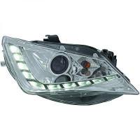 Set de deux phares principaux chrome limpide SEAT IBIZA 5 de 2012 à 15
