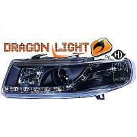 Set de deux phares principaux H1/H1 limpide SEAT LEON 1 de 99 à 04