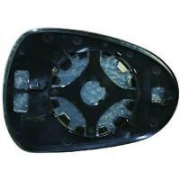 Miroir (convexe) de rétroviseur coté droit SEAT LEON (1P1) de 09 à >> - OEM : 6J0857522F