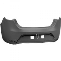 Pare chocs arrière (pour capteurs) SEAT LEON (1P1) de 05 à 09 - OEM : 1P0807421AGRU