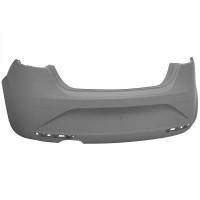 Pare chocs arrière (sans capteurs) SEAT LEON (1P1) de 09 à 12 - OEM : 1P0807421DGRU
