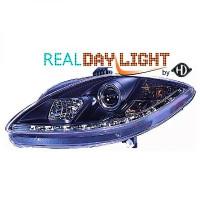Set de deux phares principaux H1/H1 R87 SEAT ALTEA de 04 à 09