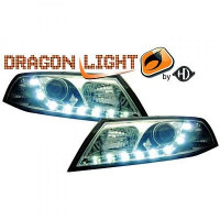 Set de deux phares principaux H1/H7 chrome de 04 à 08