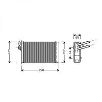 Caisse à eau, radiateur de 86 à >> - OEM : 8D1819031C