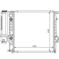 Radiateur, refroidissement du moteur 440 x 440 boite auto de 91 à 98 - OEM : 1728905