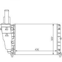 Radiateur, refroidissement du moteur 435 x 322 pour boite manuelle de 93 à 99 - OEM : 7718660