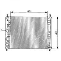 Radiateur, refroidissement du moteur 475 x 414 modèle avec clim de 95 à 97 - OEM : 7776508