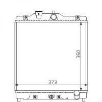 Radiateur, refroidissement du moteur 352 x 347 x 27 pour boite manuelle de 92 à 01 - OEM : PCC108352