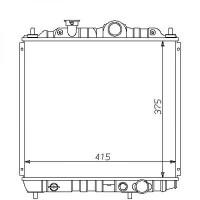 Radiateur, refroidissement du moteur 375 x 415 92-96 375x415