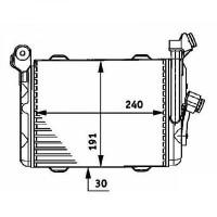Radiateur d'huile de boîte automatique de 96 à 04 - OEM : 2246028