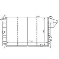 Radiateur, refroidissement du moteur boite manuelle pour modèles sans clim de 88 à 95 - OEM : 90442583