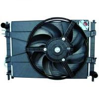 Module de refroidissement avec condensateur Complément : avec radiateur