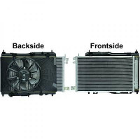 Module de refroidissement complet Fiesta 1,4 et 1,6 TDCI