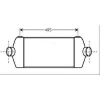 Intercooler, échangeur de 06 à 13 - OEM : 6C119L440AC