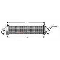 Intercooler, échangeur de 04 à >> - OEM : 3M519L440DE