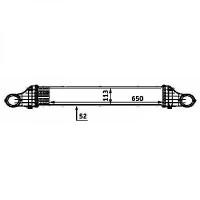 Intercooler, échangeur de 02 à 05 - OEM : A2115001002