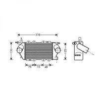 Intercooler, échangeur de 97 à >> - OEM : 9129353