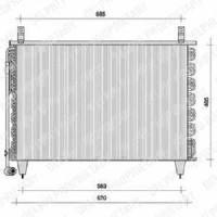 Radiateur, refroidissement du moteur boite manuelle de 08 à >> - OEM : 93194257